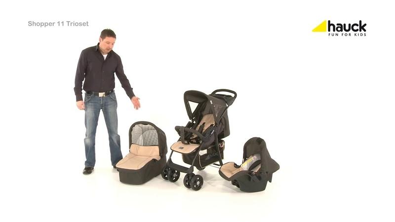Детская коляска 3 в 1 Hauck Group Shopper Trioset