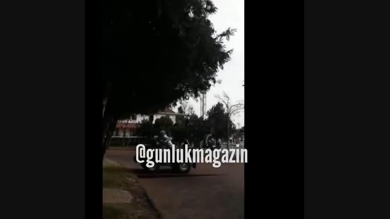 Кристен Стюарт на съемках фильма Ангелы Чарли в Турции