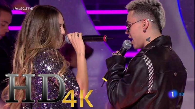 Ana Mena ~ Mentira ft. RK (Especial NocheVieja Fin de Año, tve) (Live) 2018 HD 4K
