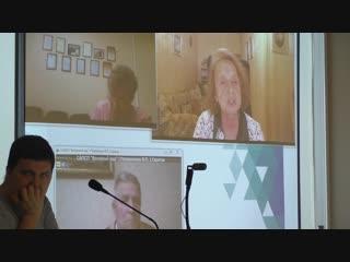 Часть 6.Продолжение выступления председателя ПСР Людмилы Голосовой. Информационная Конференция РОО