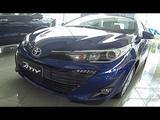 All new sedan Toyota Yaris Ativ 2018 - Dark Blue Mica Metallic