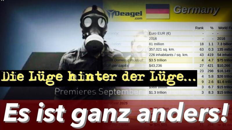 DEAGEL LISTE SCHOCK 2025 nur noch 28 Mio. Deutsche Die hinterlistige Lüge hinter der Lüge.