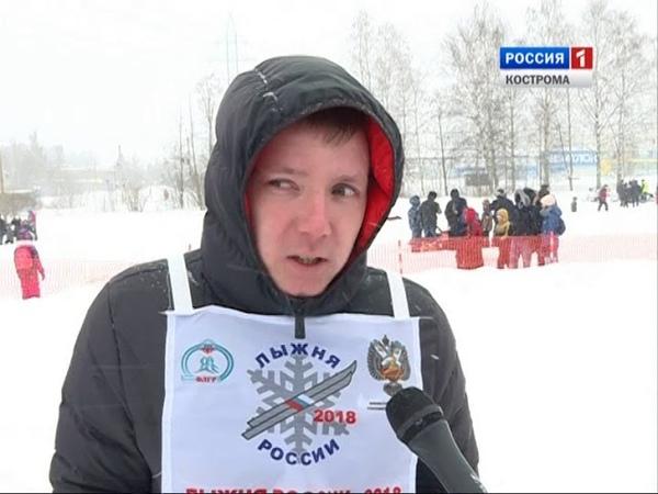 Под Костромой прошли областные соревнования по биатлону на снегоходах