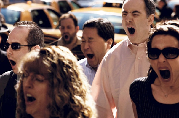 Почему зевота заразительна