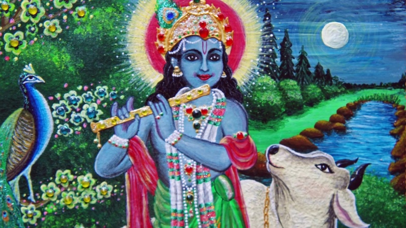 Обложка для Бхагавад-Гиты | KrishnaArt