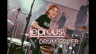 Leprous - Stuck   Drum cover by Christine
