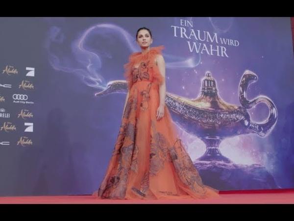 ALADDIN arrivals red carpet Germany Mena Massoud, Will Smith Naomi Scott
