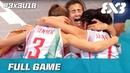Hungary vs France | Women's Full Game | FIBA 3x3 U18 Europe Cup 2017