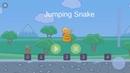 Jumping Snake Аркадная игра Прыгай змеей по кубикам