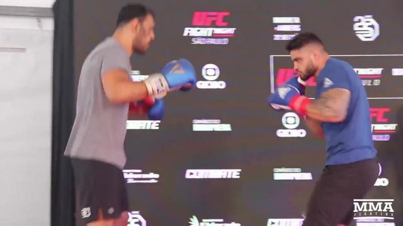 Antonio Rogerio Nogueira UFC Sao Paulo Open Workouts (Complete) - MMA Fighting