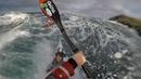 Sea Kayaking at Calf Sound Isle of Man spring tides 3rd December '17
