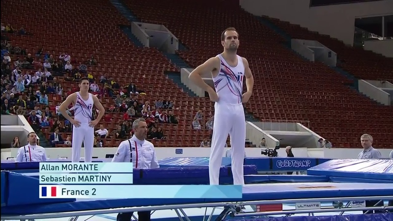 2018 Male Synchro Trampoline World Championships Finals