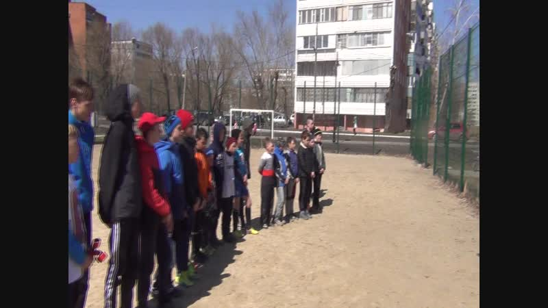 Фрагмент турнира по мини футболу. Май 2018_13
