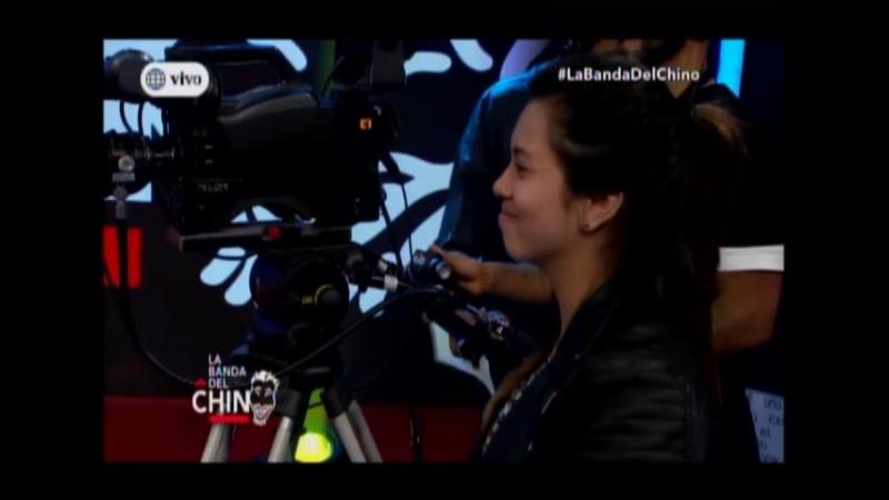 El Chino fastidia a Fiorella Mendez como Votaria en las elecciones