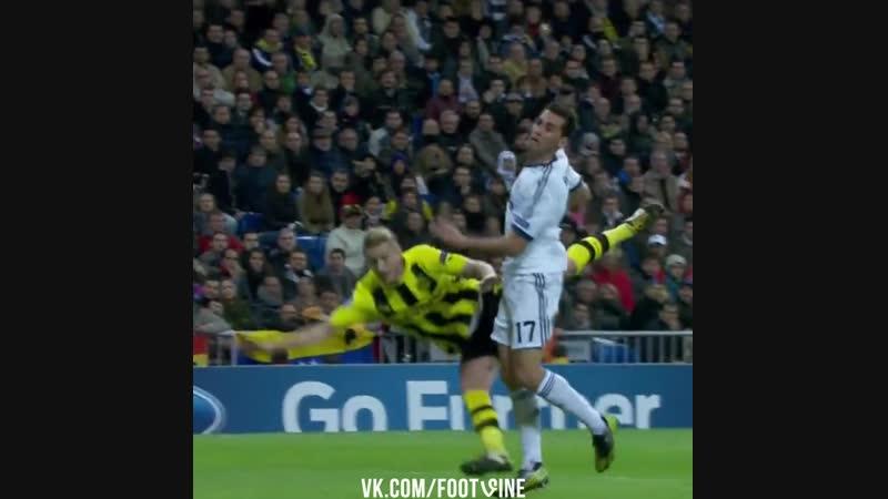 Ройс в ворота Реала