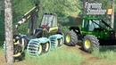 FS19 Forestry Mods PONSSE Bear John Deere Skidder Freightliner KamAZ LS19 Trucks