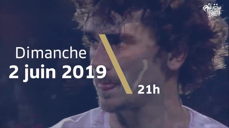 France - Bolivie à Nantes le 2 juin 2019, Equipe de France I FFF 2019