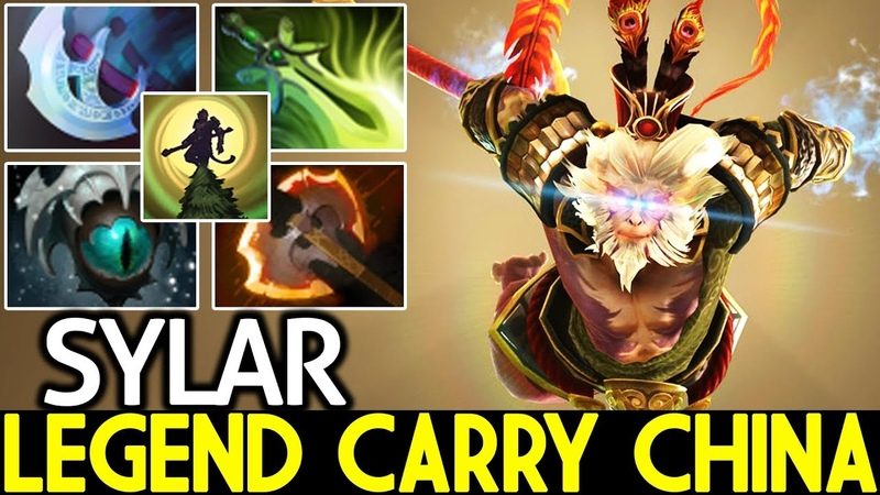 Sylar [Monkey King] Legend Carry China Epic Game 7.19 Dota 2