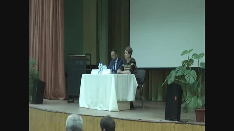 Встреча главы управы с жителями района 17 10 2018
