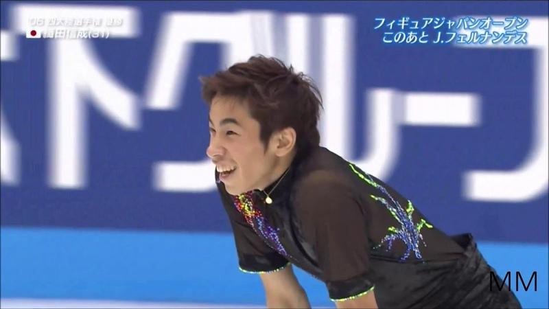 織田信成(Nobunari ODA) 2018 Japan Open FS