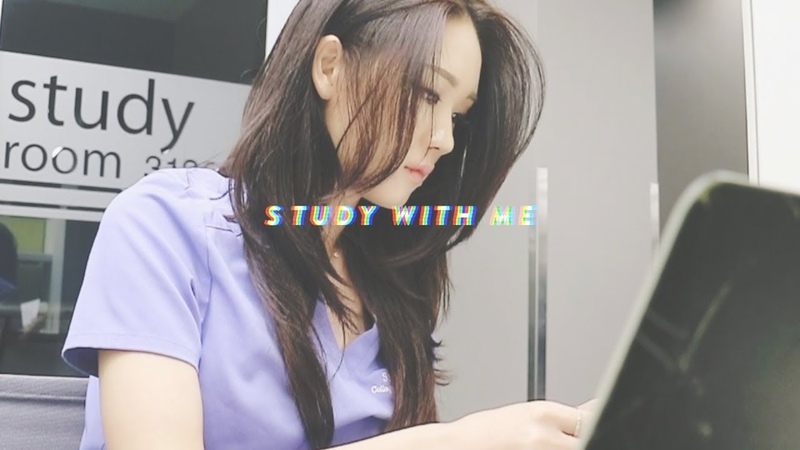 STUDY WITH ME AT THE LIBRARY   도서관에서 같이 공부해요!