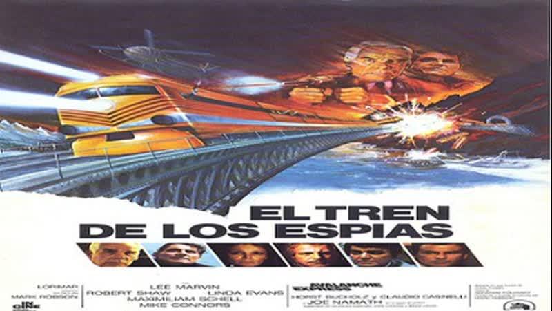 Cine Clásico.- El tren de los espías.- (1979).Español