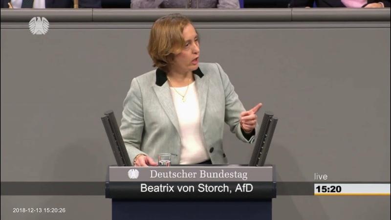 Beatrix von Storch (AfD). Ich nehme an dass ein Großteil der SPD keine Babymörder Partei sein will