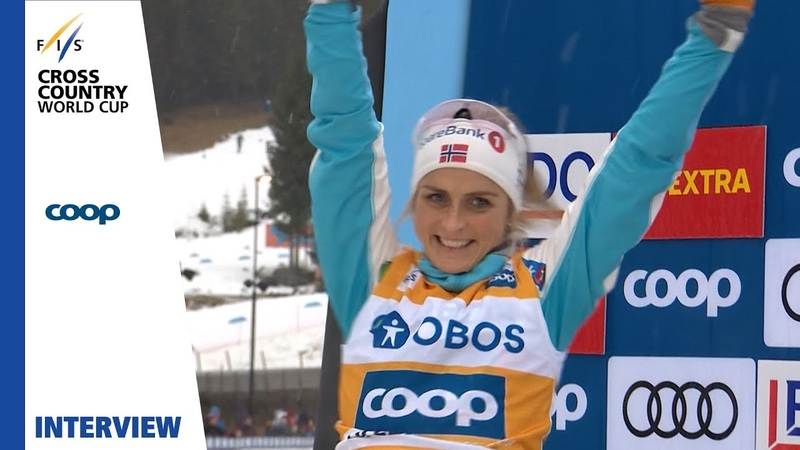 Therese Johaug | I'm really, really happy | Lillehammer | Ladies' Pursuit | FIS Cross Country