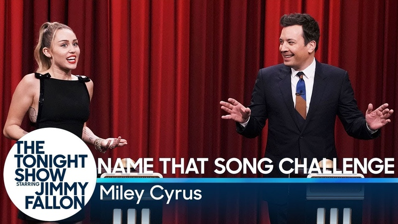 Name That Song Challenge with Miley Cyrus