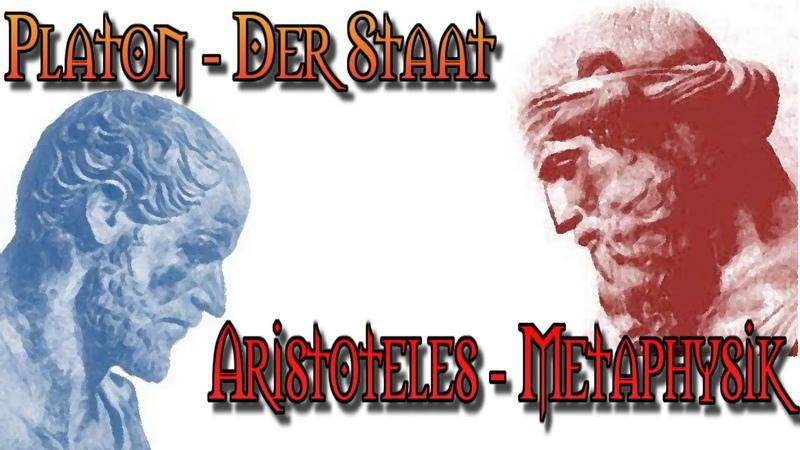 Platon Der Staat und Aristoteles Metaphysik antike Philosophie