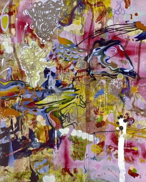 Даниэль Рихтер (англ. Daniel Richter, р. 1962). Абстракция.