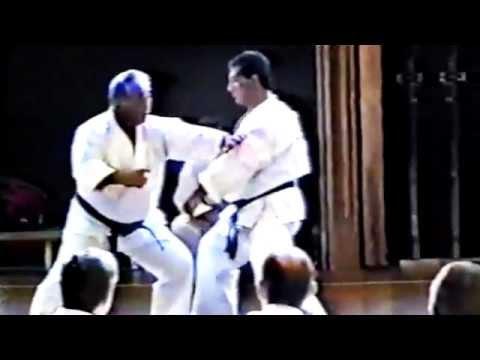 Sensei Taiji Kase Karate