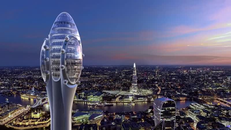 The Tulip - проект новой смотровой башни в Лондоне
