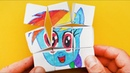 FUNNY CARTOONS IDEAS TO TRY NOW Little Pony Puzzle Tutorial