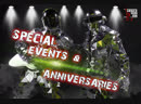 Groove Cruise Miami 2019 LASER SHOW USA presents LED ROBOTS MIRROR SHOW on 15th anniversary on board Celebrity Cruises's Infi