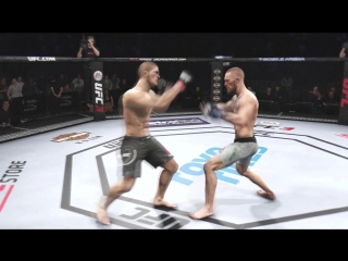 Khabib Nurmagomedov vs. Conor McGregor TITLE FIGHT (EA Sports UFC 3 X1) LEGEND_Full-HD