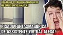 OUÇA a Sinistra Risada que ALEXA Assistente Virtual da Amazon está Emitindo 785 N A