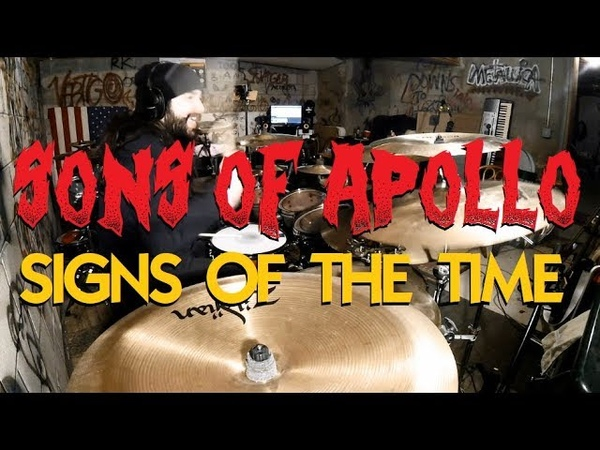 Sons of Apollo - Signs of the Time - (Glen Monturi Drum Cover)