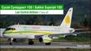 Take-off Sukhoi Superjet 100 (SSJ100) Lao Central Airlines
