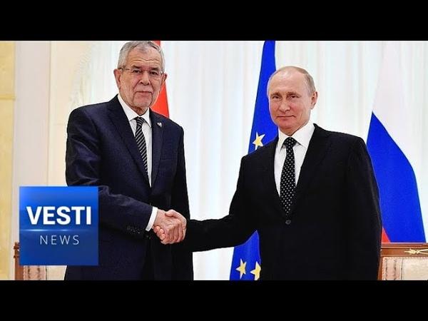 Putin Shores Up Nord Stream 2 Project in Austria Vienna Won't Cave to Washington's Demands