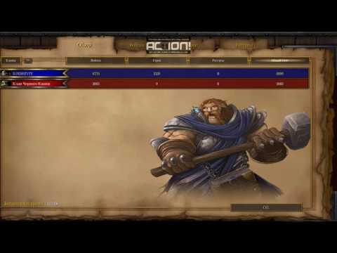 [01] Прохождение «Warcraft III: Reign of Chaos» (Падение Лордерона - Часть 1) [1080p] [4CTION!]