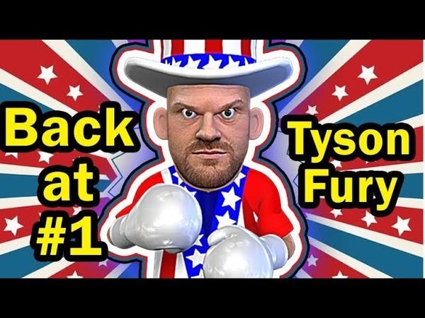 Tyson Fury MASTERFUL performance VS Tom Schwarz - 2nd Round TKO