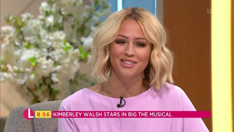 Kimberley Walsh Discusses Girls Aloud Reunion and Starring in Big the Musical Lorraine