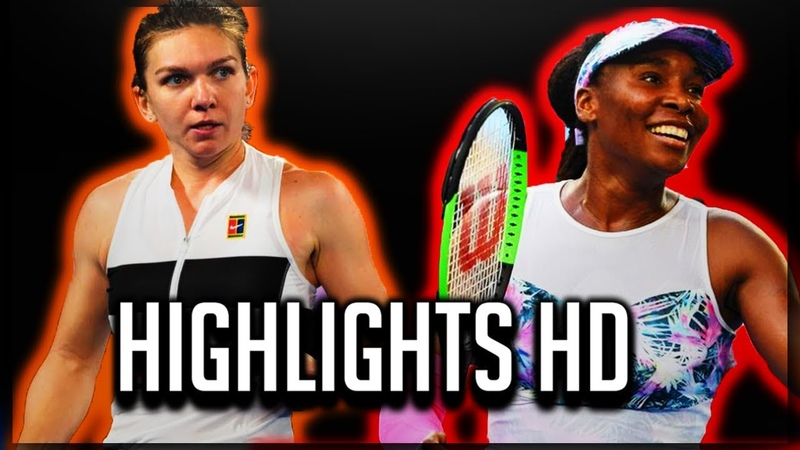Simona Halep VS Venus Williams Highlights