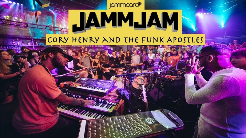 JammJam | Cory Henry and the Funk Apostles feat. B.Slade | Inner City Blues LIVE