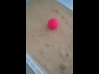 Sand acts just like a liquid when you blow air through it