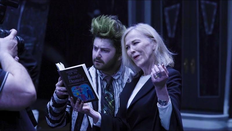 Catherine O'Hara Visits Beetlejuice on Broadway   Beetlejuice The Musical