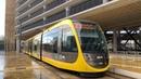 Trams op de Uithoflijn in Utrecht CAF Urbos 100 Stadsbus