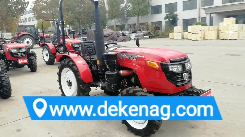 China 804 80hp 4wd garden tractor with ROPS
