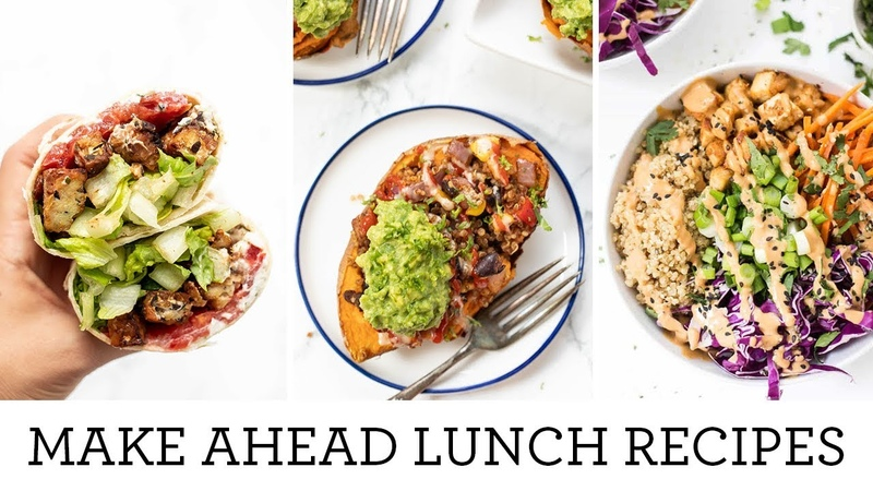 MEAL PREP LUNCH DINNER RECIPES | Easy Make Ahead Meals